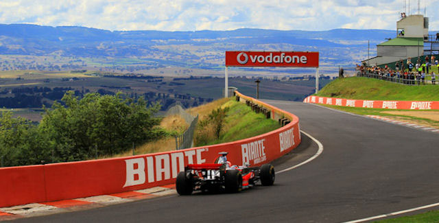 Mount Panorama road track