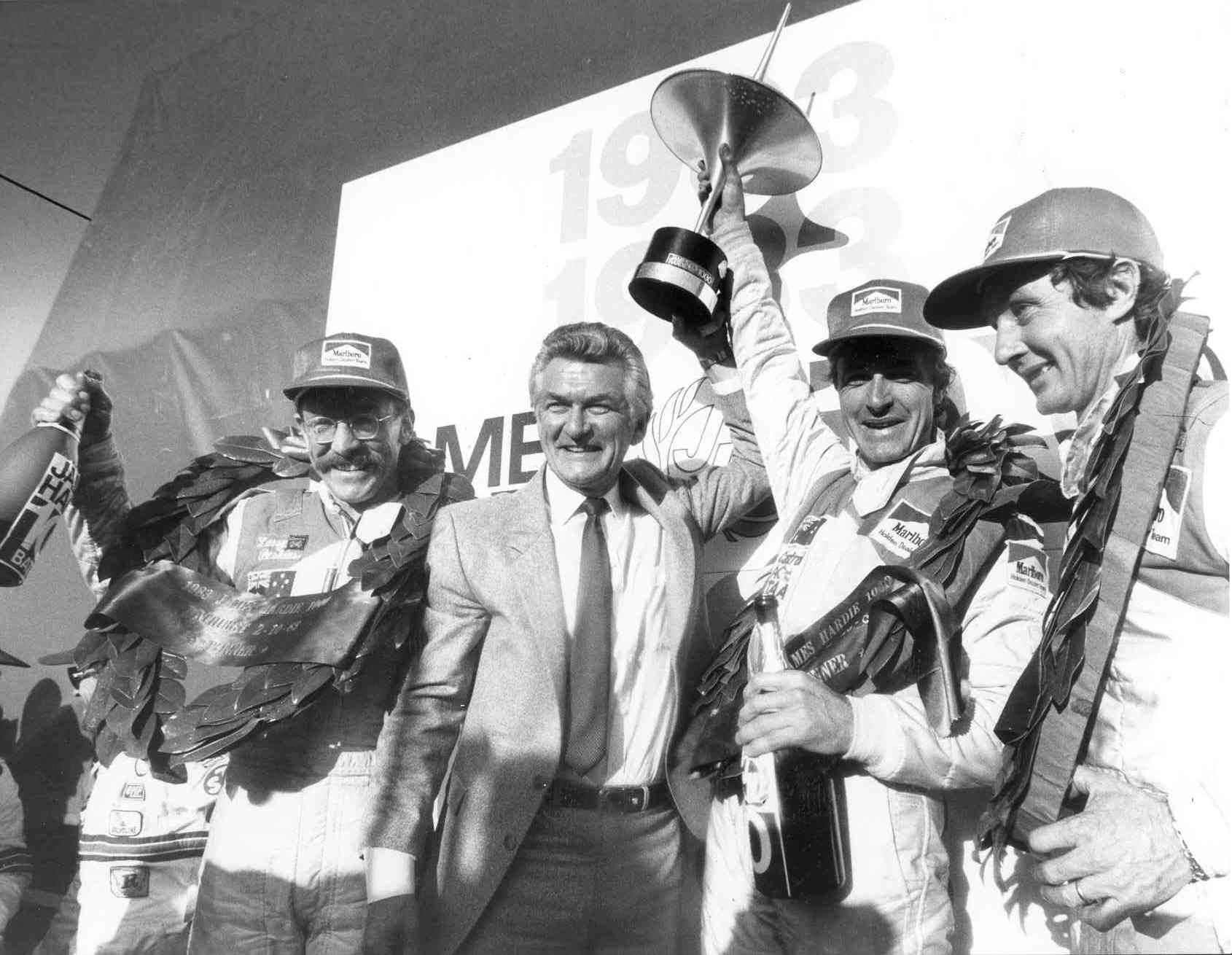 Bathurst Winners with former Prime Minister Bob Hawke